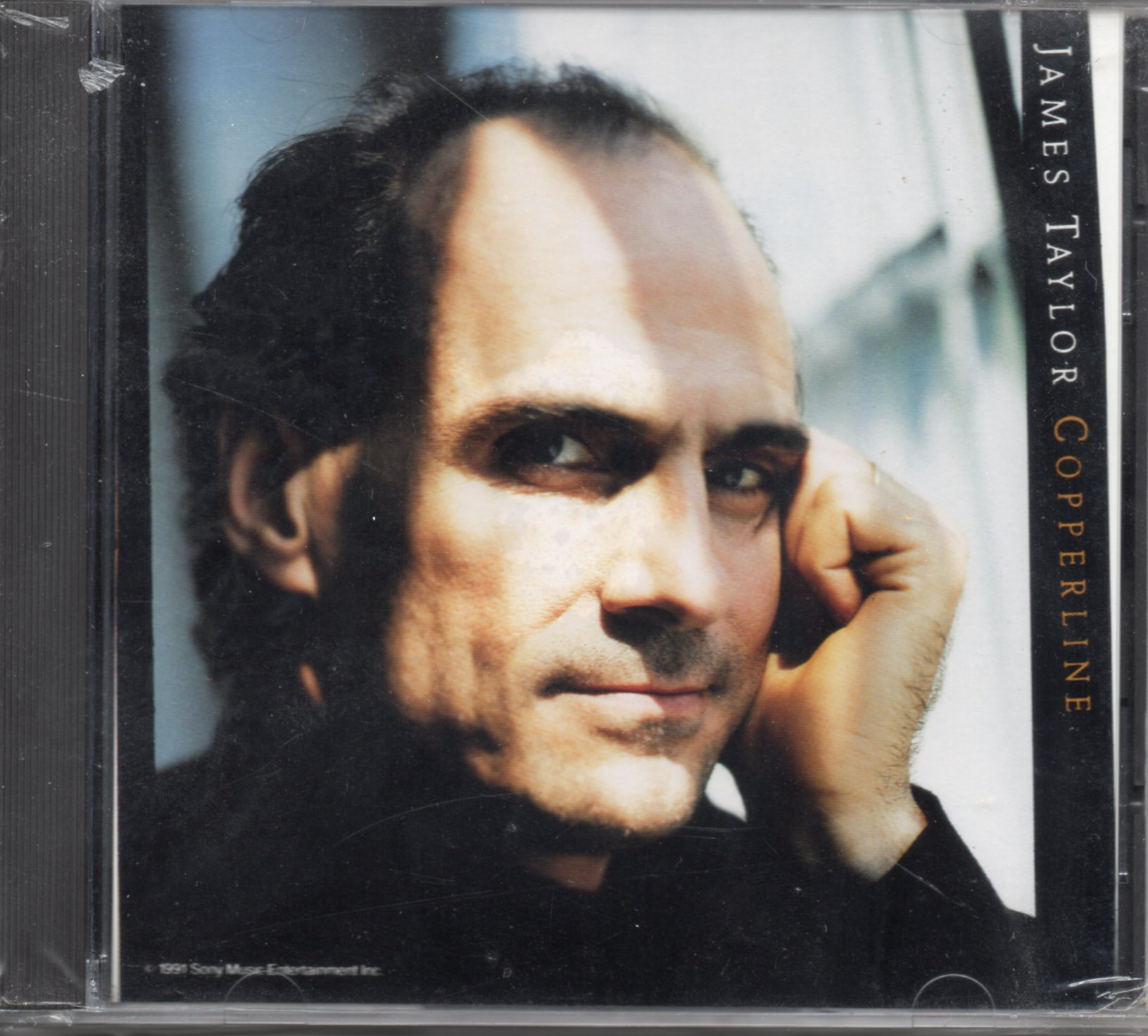 JAMES TAYLOR - Copperline Promo 1-track Jewel case - CD Maxi