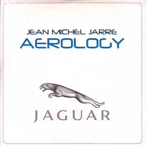 JEAN-MICHEL JARRE - Aerology 1-track Jaguar promo CARD SLEEVE - CD single