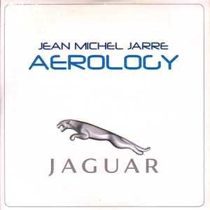 JEAN-MICHEL JARRE - Aerology 1-track Jaguar promo CARD SLEEVE - CD single