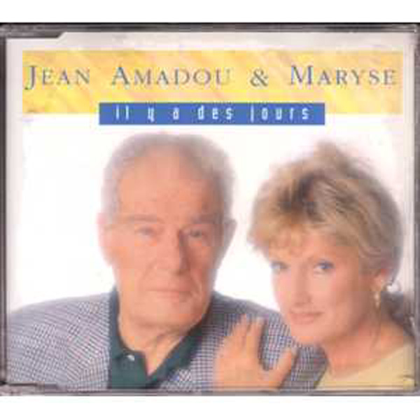 JEAN AMADOU & MARYSE - ROMANO MUSUMARRA - Il y a des jours 4 tracks Jewel case - MCD