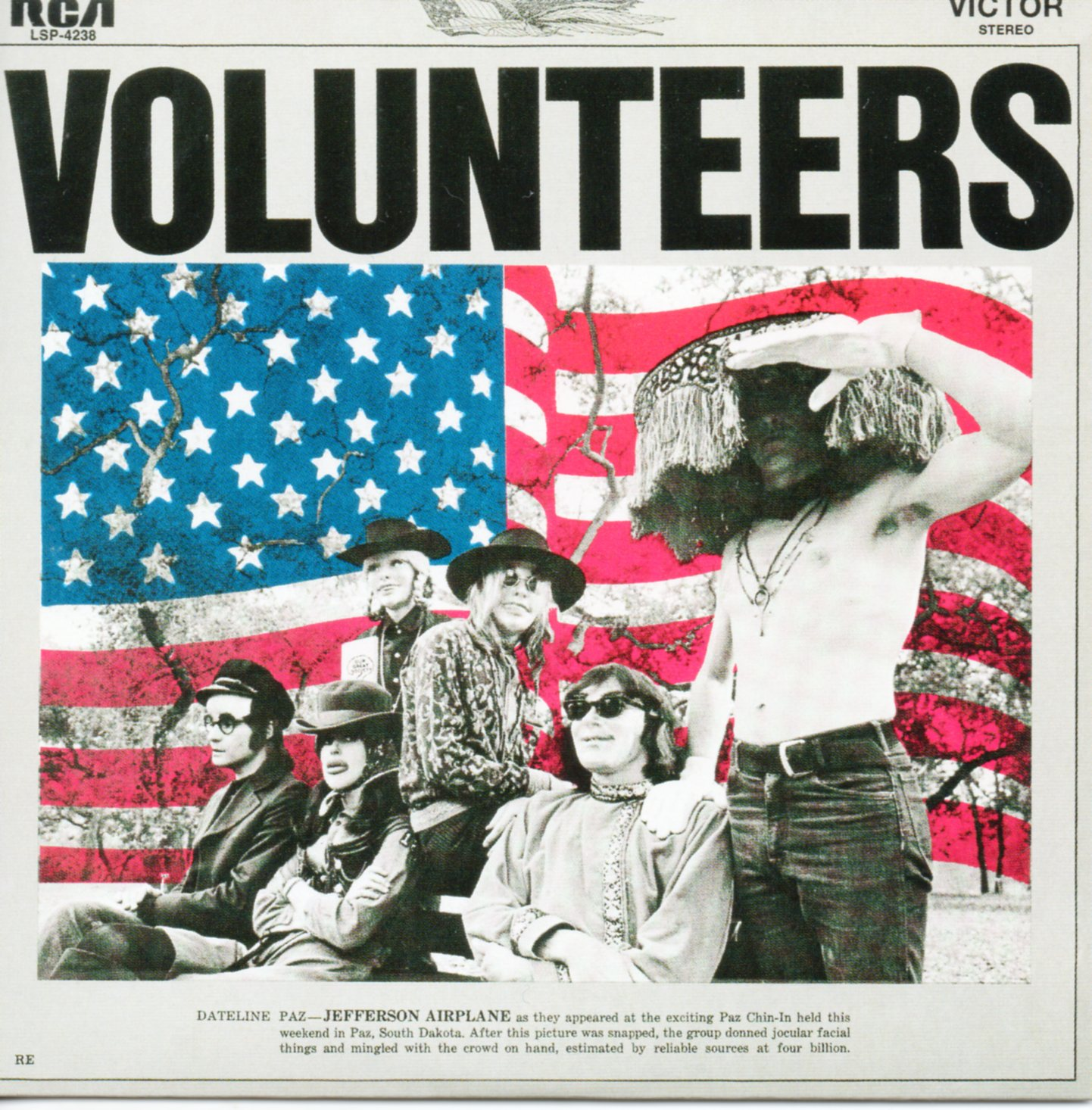 JEFFERSON AIRPLANE - Volunteers - Mini LP - CARD SLEEVE 15-track (Including 5 Live Tracks) - CD