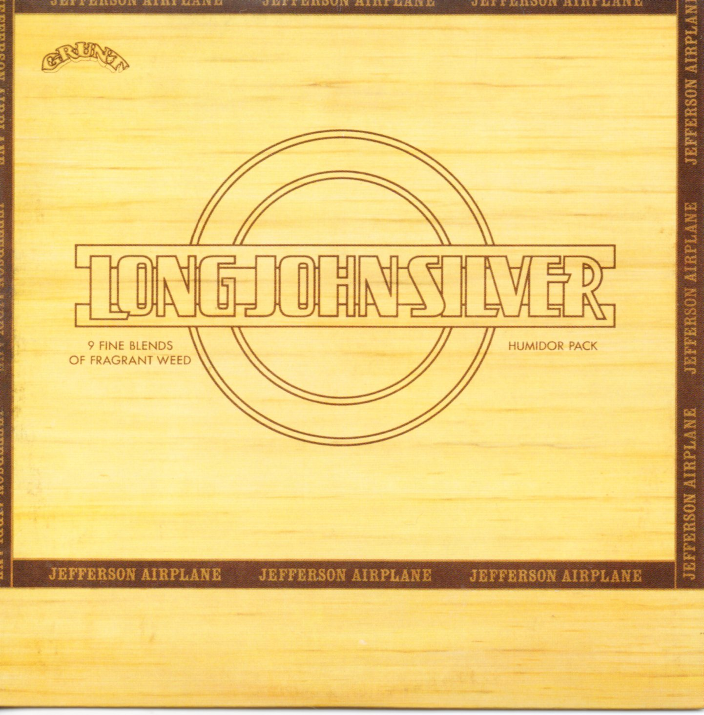 JEFFERSON AIRPLANE - Long John Silver - Mini LP - CARD SLEEVE 9-track - CD