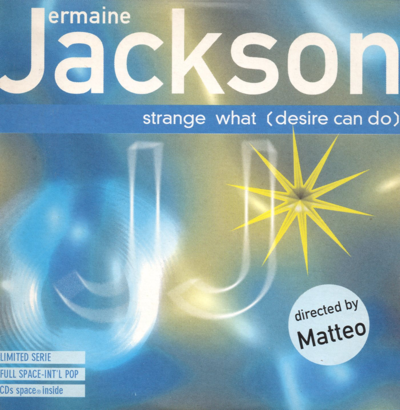JERMAINE JACKSON - Strange What (Desire Can Do) 2-track CARD SLEEVE Limited Serie - CD single