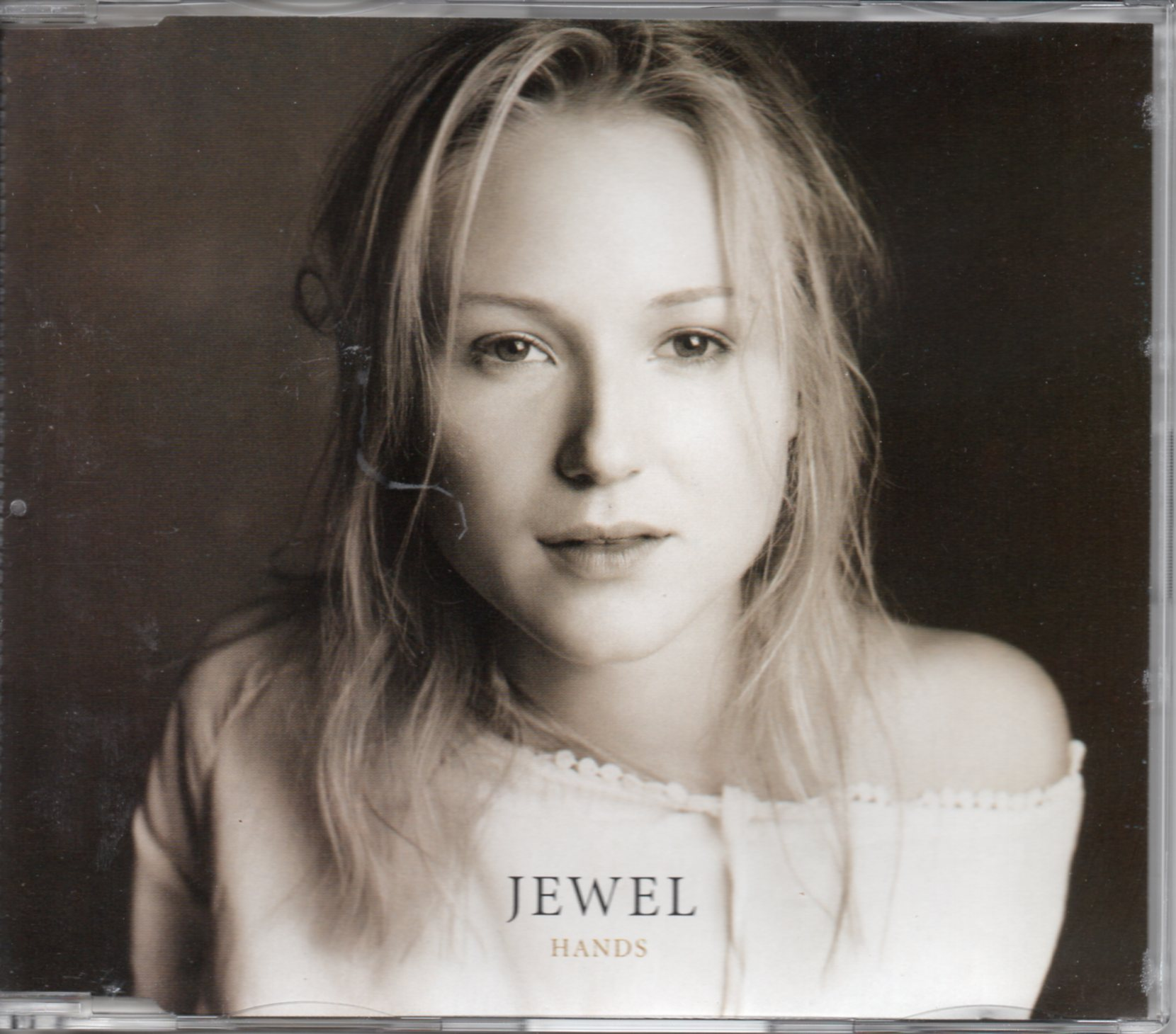 JEWEL - Hands 3-track jewel case - CD Maxi