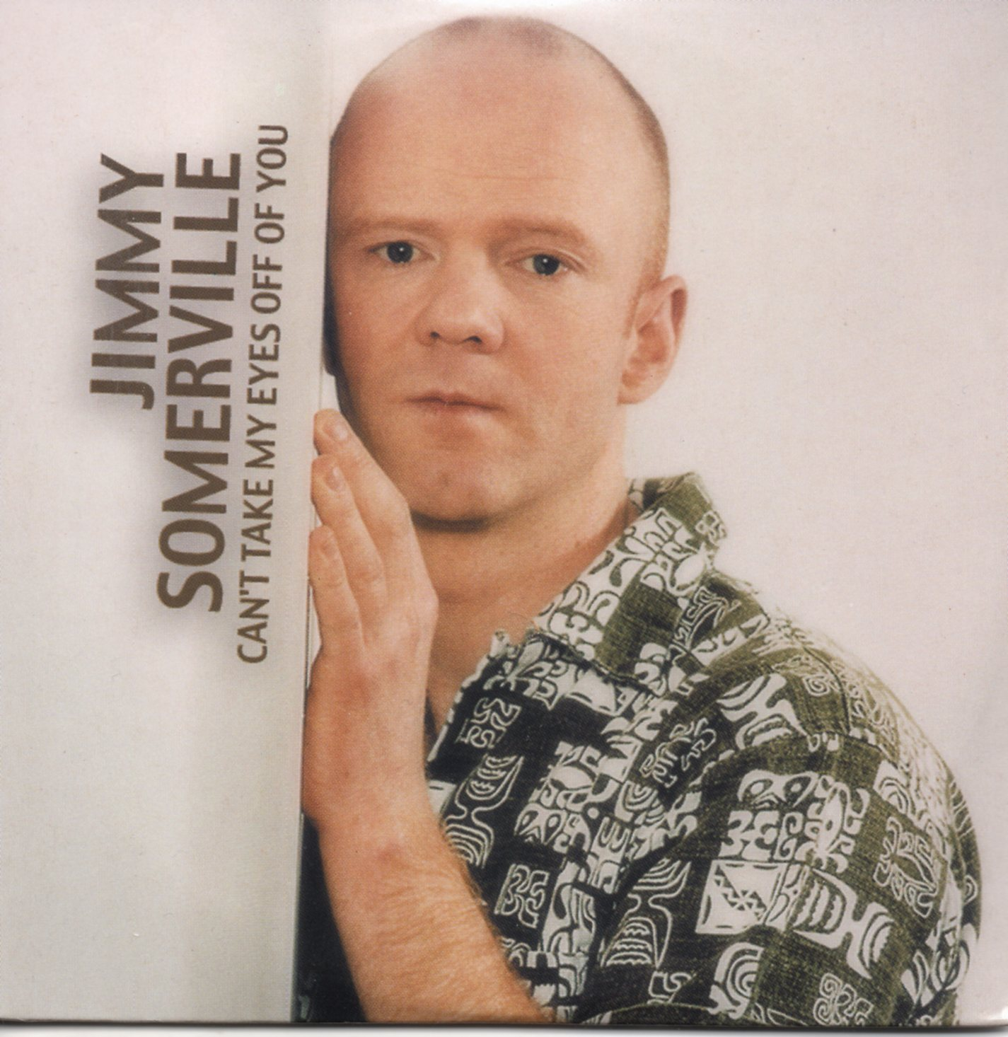 JIMMY SOMERVILLE - Can't Take My Eyes Off Of You 2-track CARD SLEEVE - CD single