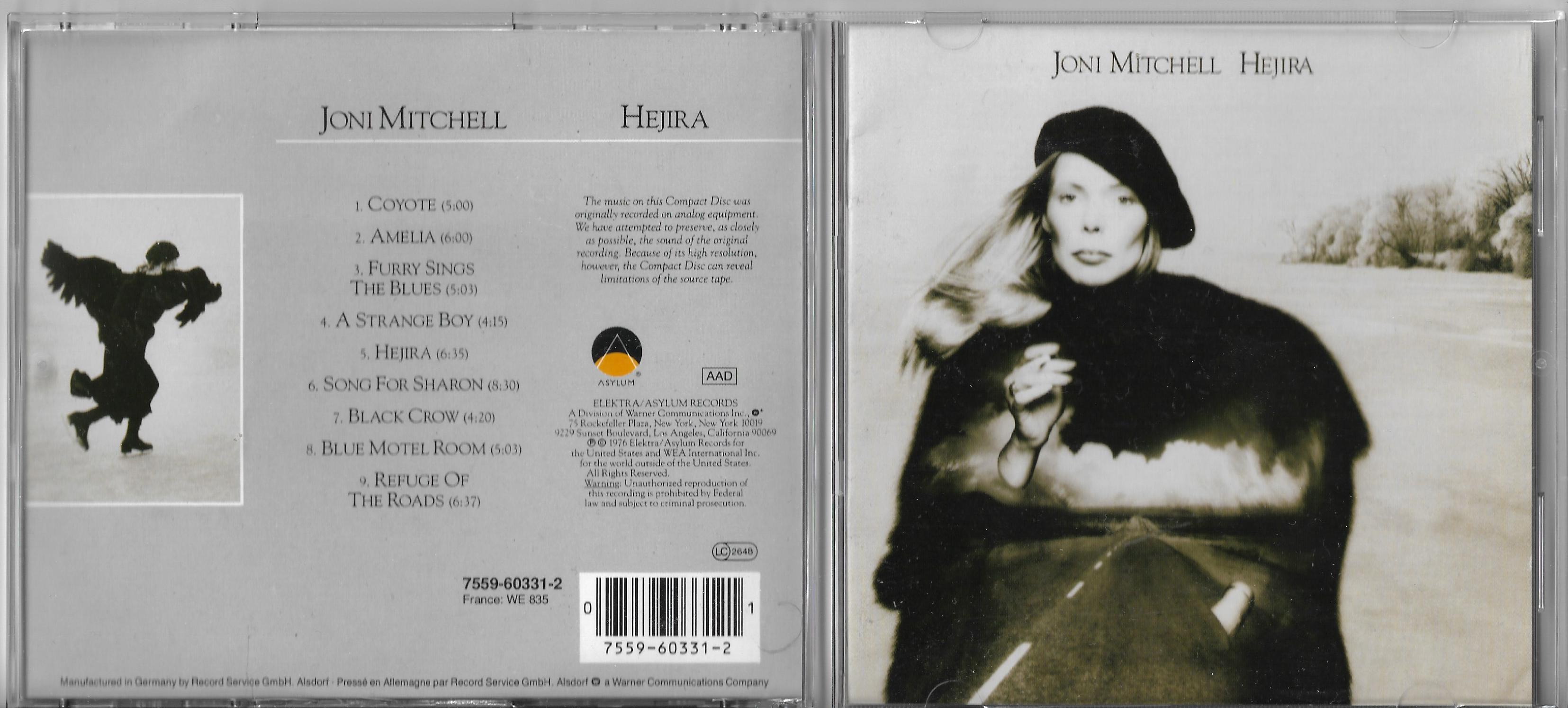 JONI MITCHELL - Both Sides Now - Promo CARD SLEEVE - CD