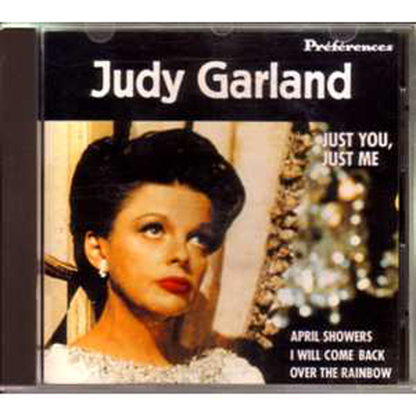 JUDY GARLAND - Preferences + Rare French CD + - CD