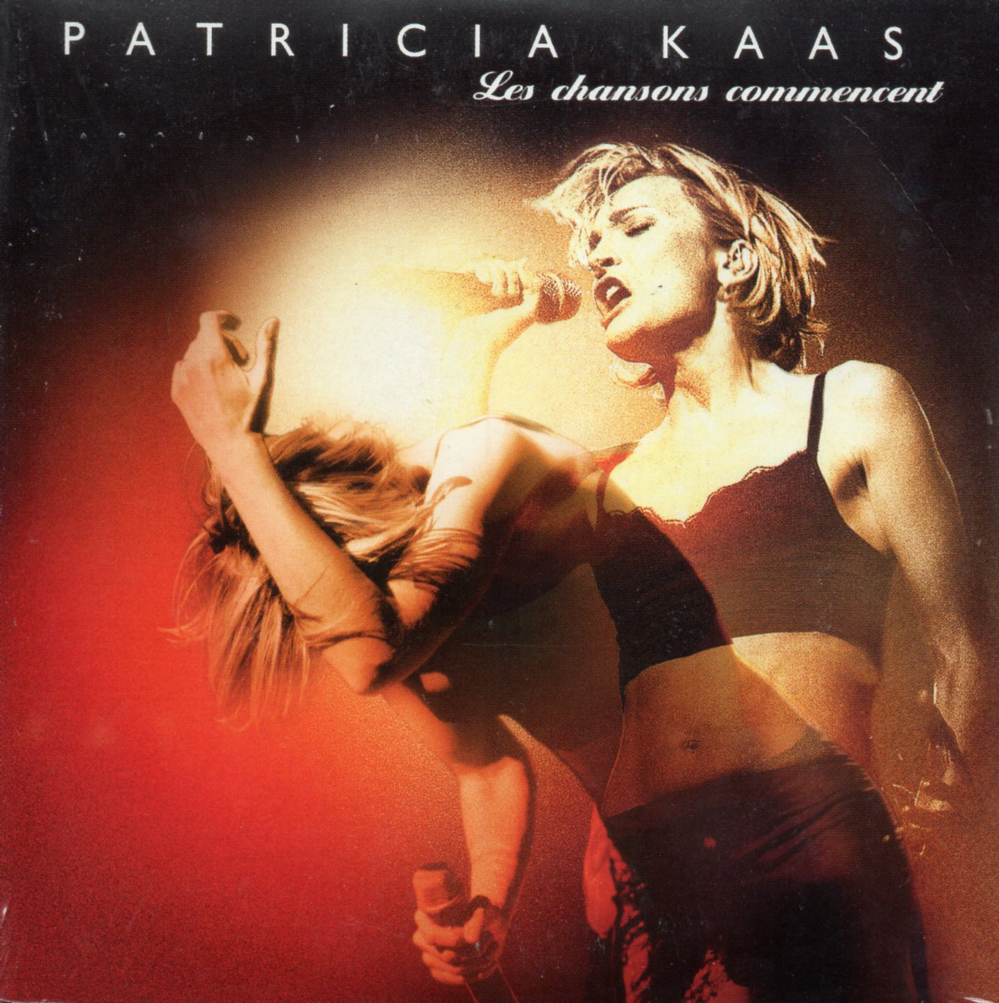 PATRICIA KAAS - Les chansons commencent 3-track CARD SLEEVE - CD single