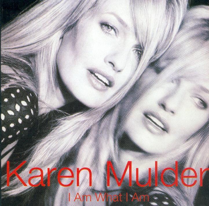 Karen MULDER - I Am What I Am 2-track Card Sleeve