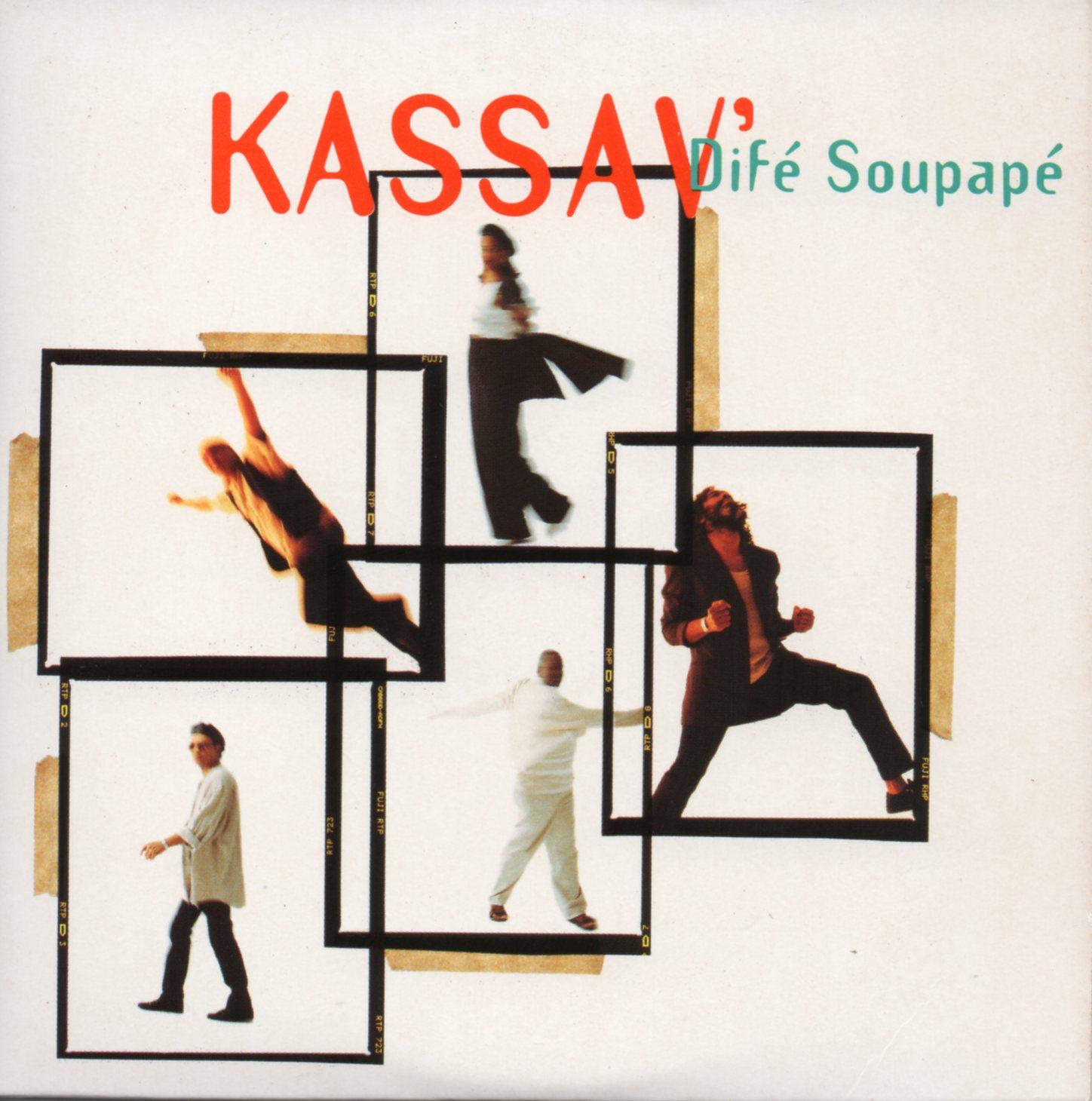 KASSAV' - Difé Soupapé 2-track CARD SLEEVE - CD single