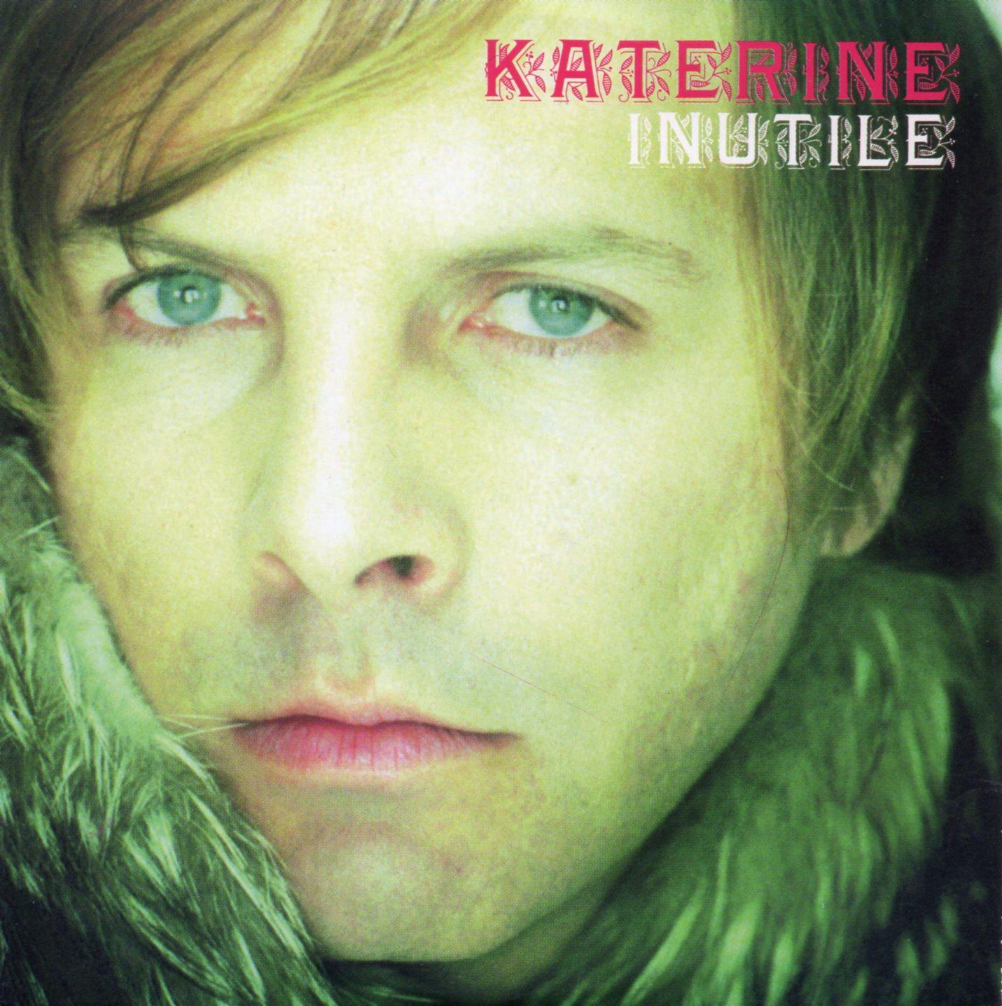 PHILIPPE KATERINE - Inutile 2-track CARD SLEEVE - CD single