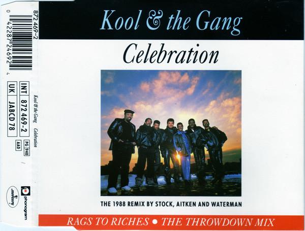KOOL & THE GANG - STOCK AITKEN WATERMAN - Celebration the 1988 remix by Stock aitken & waterman 3 tracks jewel case - MCD