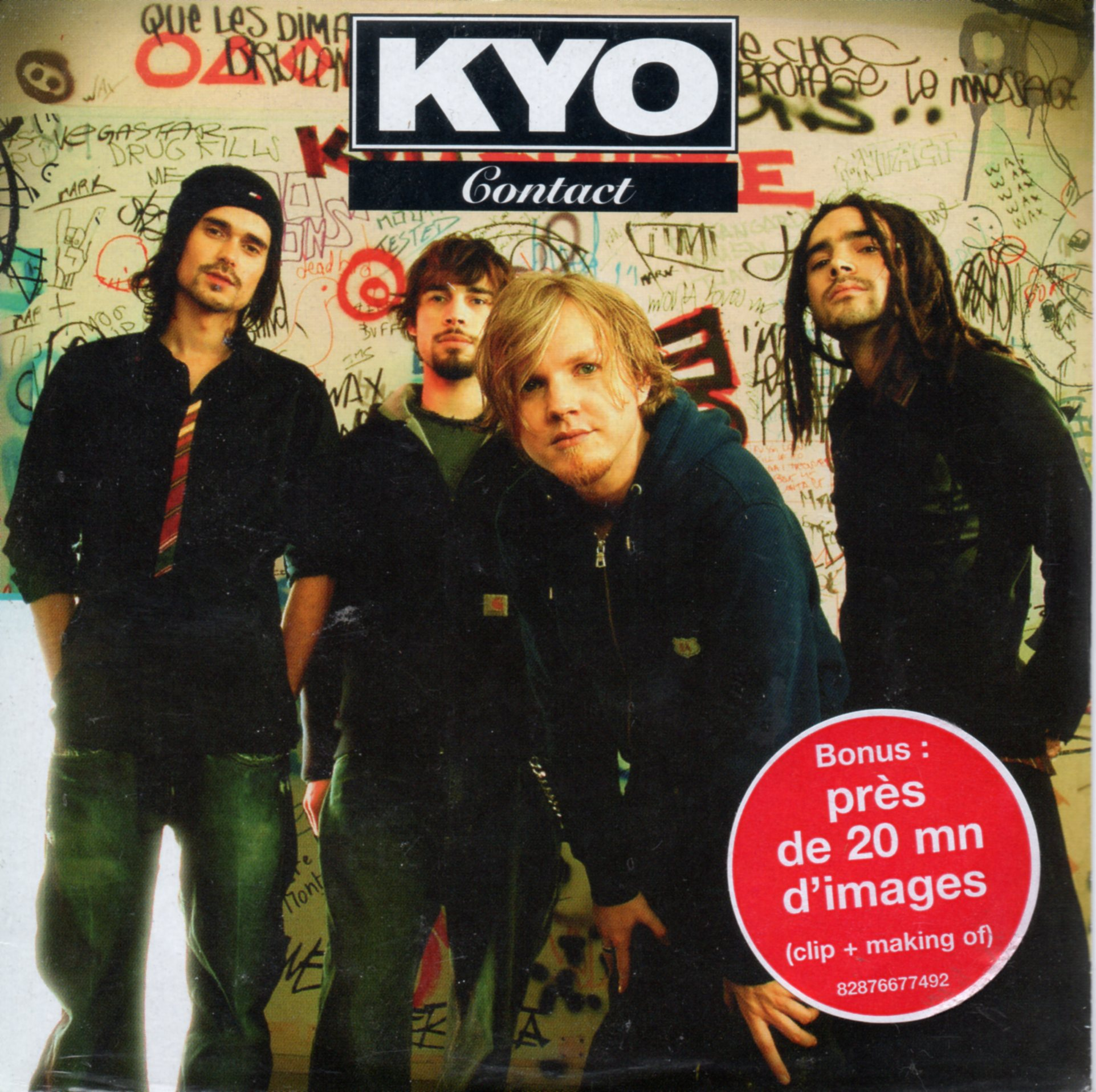 KYO - Contact 4-track CARD SLEEVE avec sticker - CD single