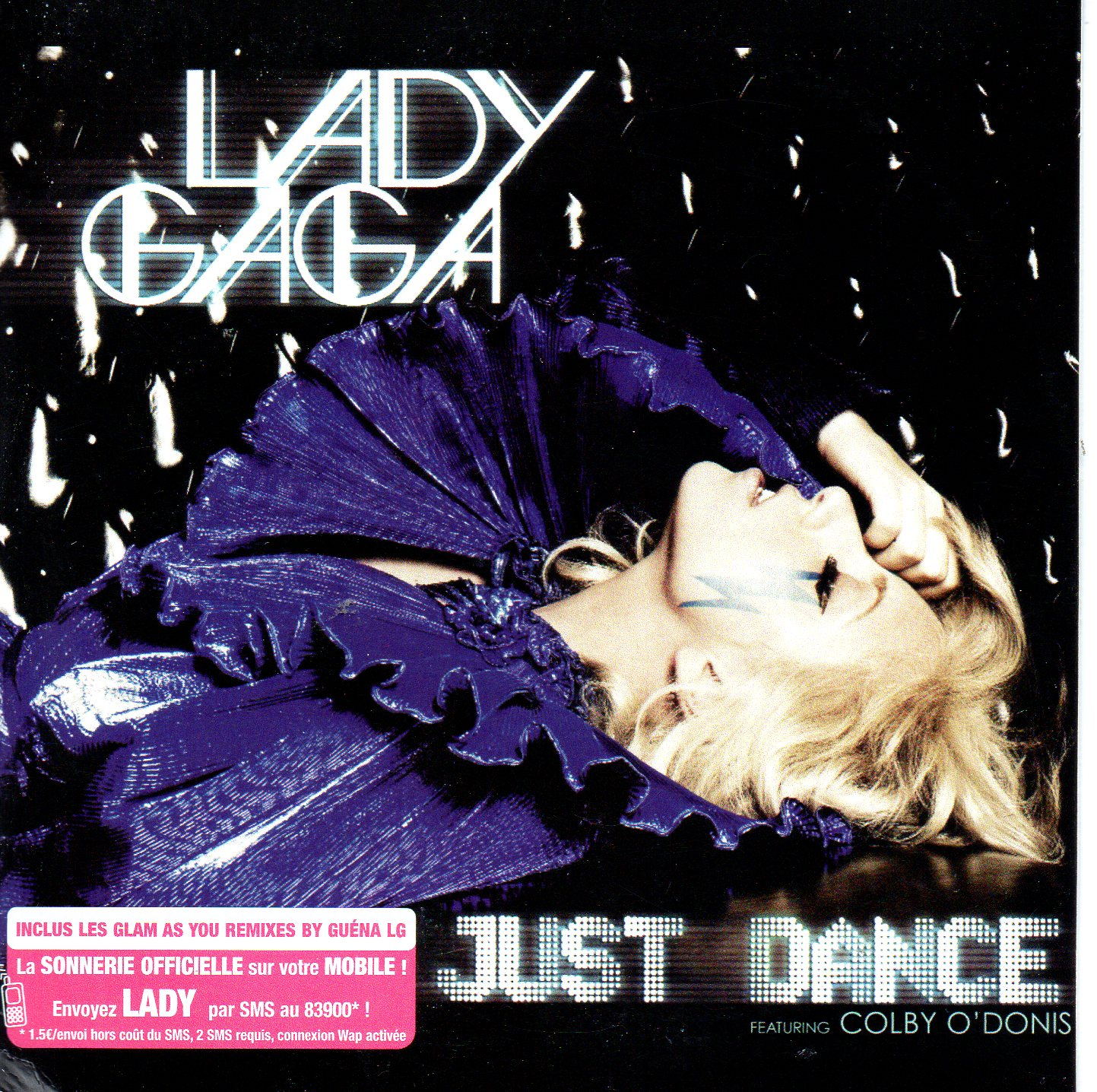 LADY GAGA - Just Dance 3-track CARD SLEEVE - CD single