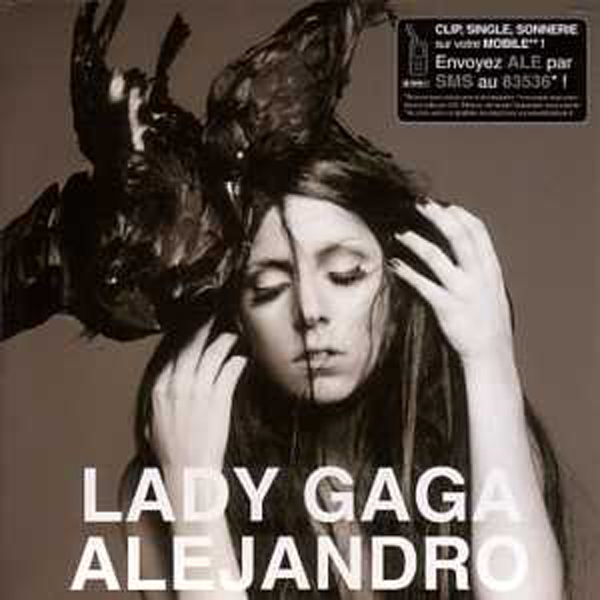 LADY GAGA - Alejandro 3-Track CARD SLEEVE - CD single