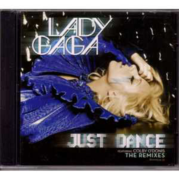 Lady GAGA - Just Dance 4-track Jewel Case