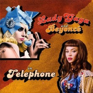 LADY GAGA & BEYONCÉ - Telephone 2-track CARD SLEEVE - CD single
