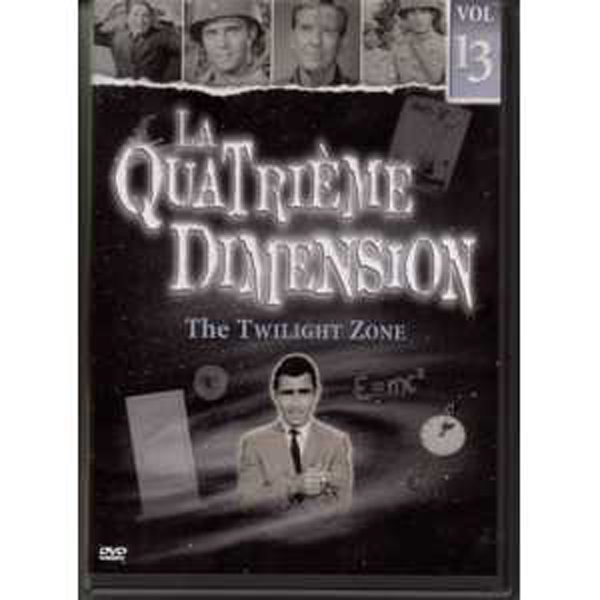 LA QUATRIEME DIMENSION / THE TWILIGHT ZONE - Vol 13 - DVD