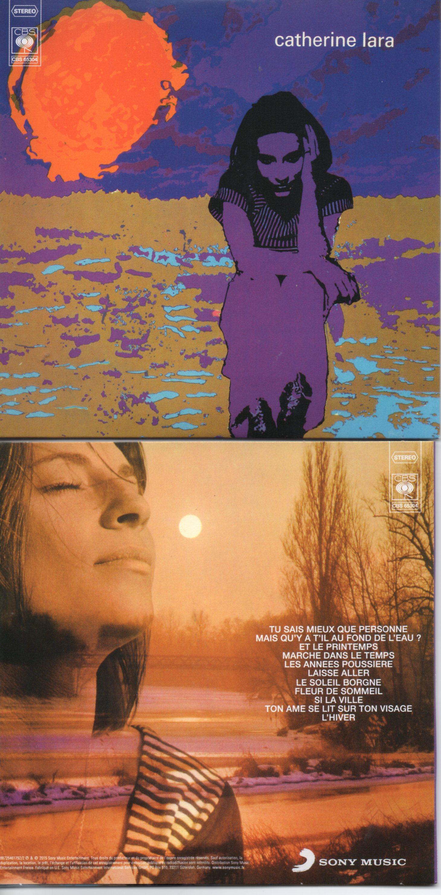 CATHERINE LARA - Les années poussières - MINI LP REPLICA - 11-TRACK CARD SLEEVE - Pochette Cartonnée - CD