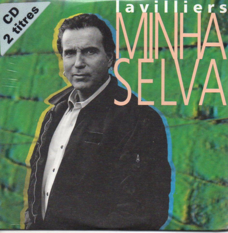 BERNARD LAVILLIERS - Minha selva 2-Track CARD SLEEVE - CD single