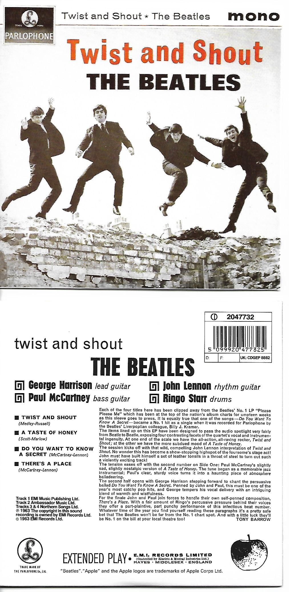 Beatles - Abbey Road - Remastered Three Panel Card Wallet