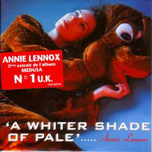 ANNIE LENNOX - A whiter shade of pale 2-track CARD SLEEVE Sticker - CD single