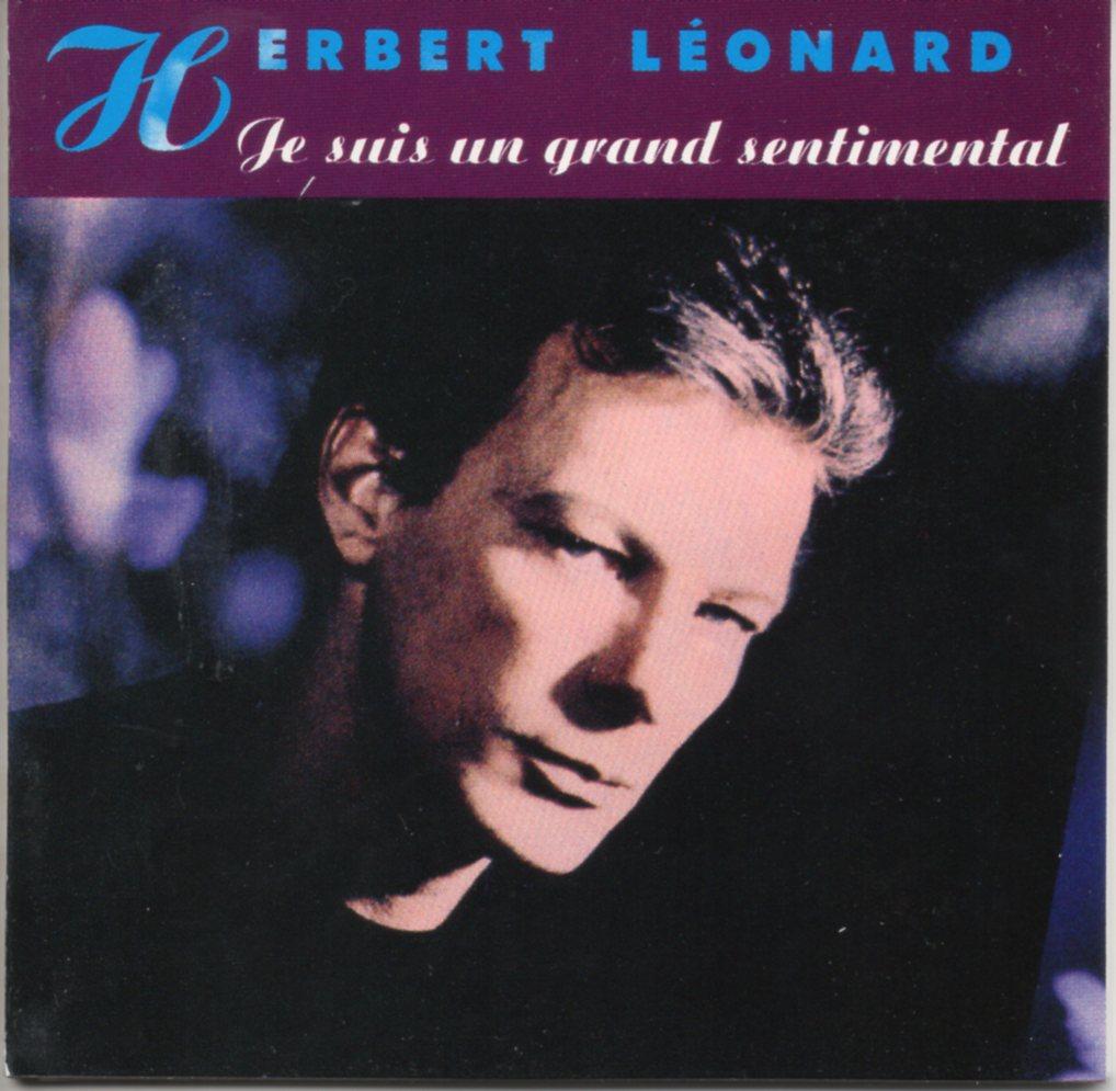 HERBERT LEONARD - Je suis un grand sentimental - CD3''- 3-track CARD SLEEVE - CD single