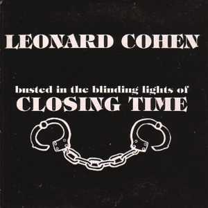 Leonard COHEN - Closing Time 2-track Card Sleeve