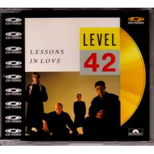 LEVEL 42 - Lessons In Love Cd Video 4-track Jewel Case
