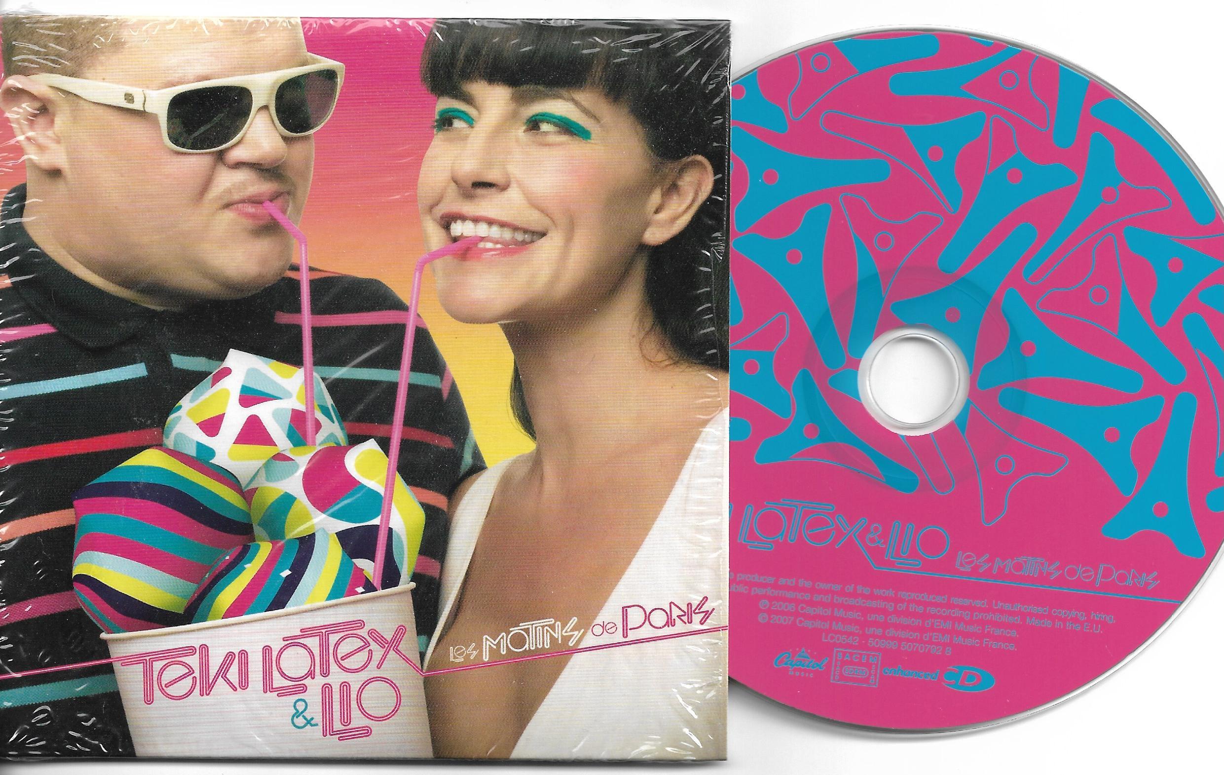 LIO & TEKI LATEX - Les matins de Paris 3-track CARD SLEEVE - CD single