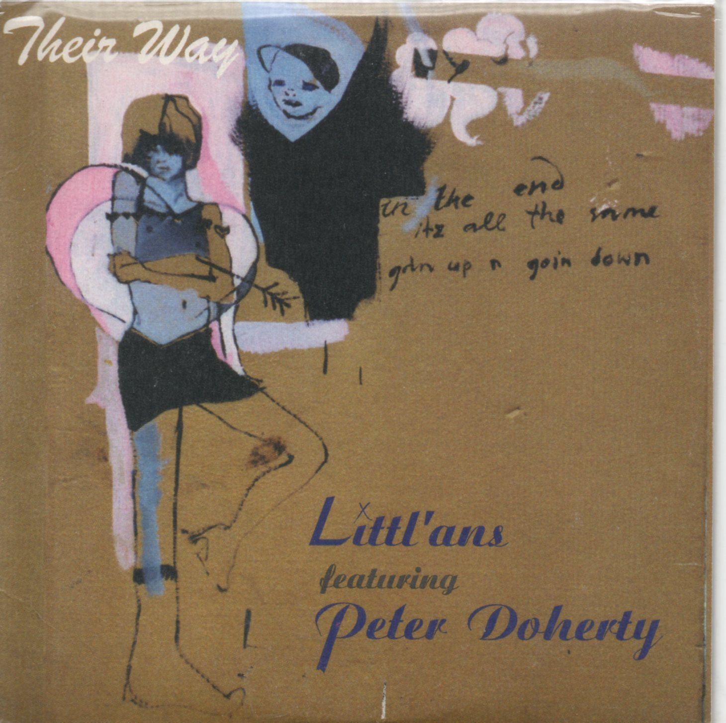 LITTL'ANS FEAT. PETER DOHERTY - Their way 4-track CARD SLEEVE - CD single