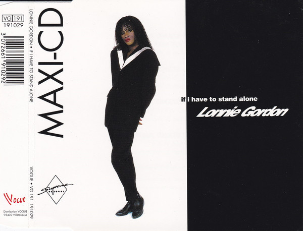 LONNIE GORDON - STOCK AITKEN WATERMAN - If I have to stand alone 4-track jewel case - CD Maxi