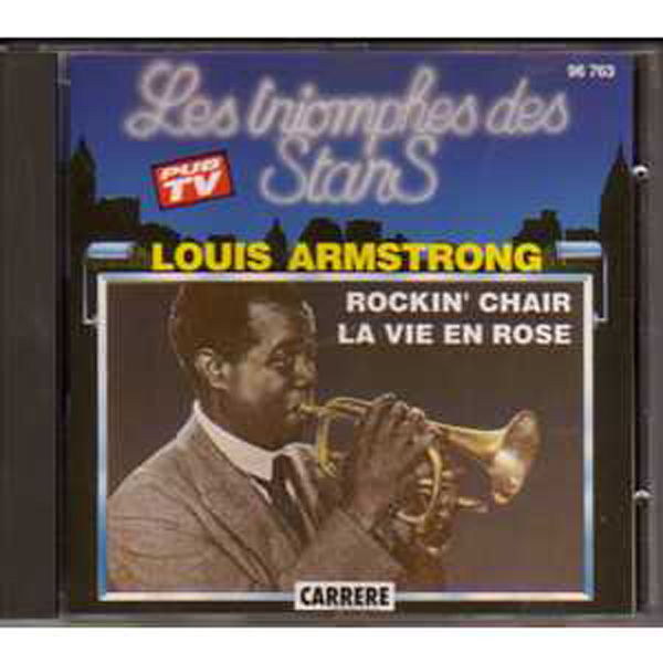 LOUIS ARMSTRONG - Les triomphes des stars  France Only Compilation - CD
