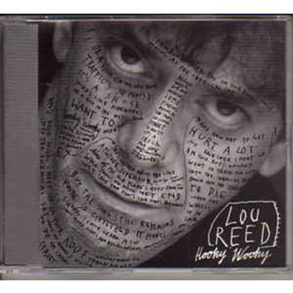LOU REED - Hooky Woody Promo 1-track jewel case - CD Maxi