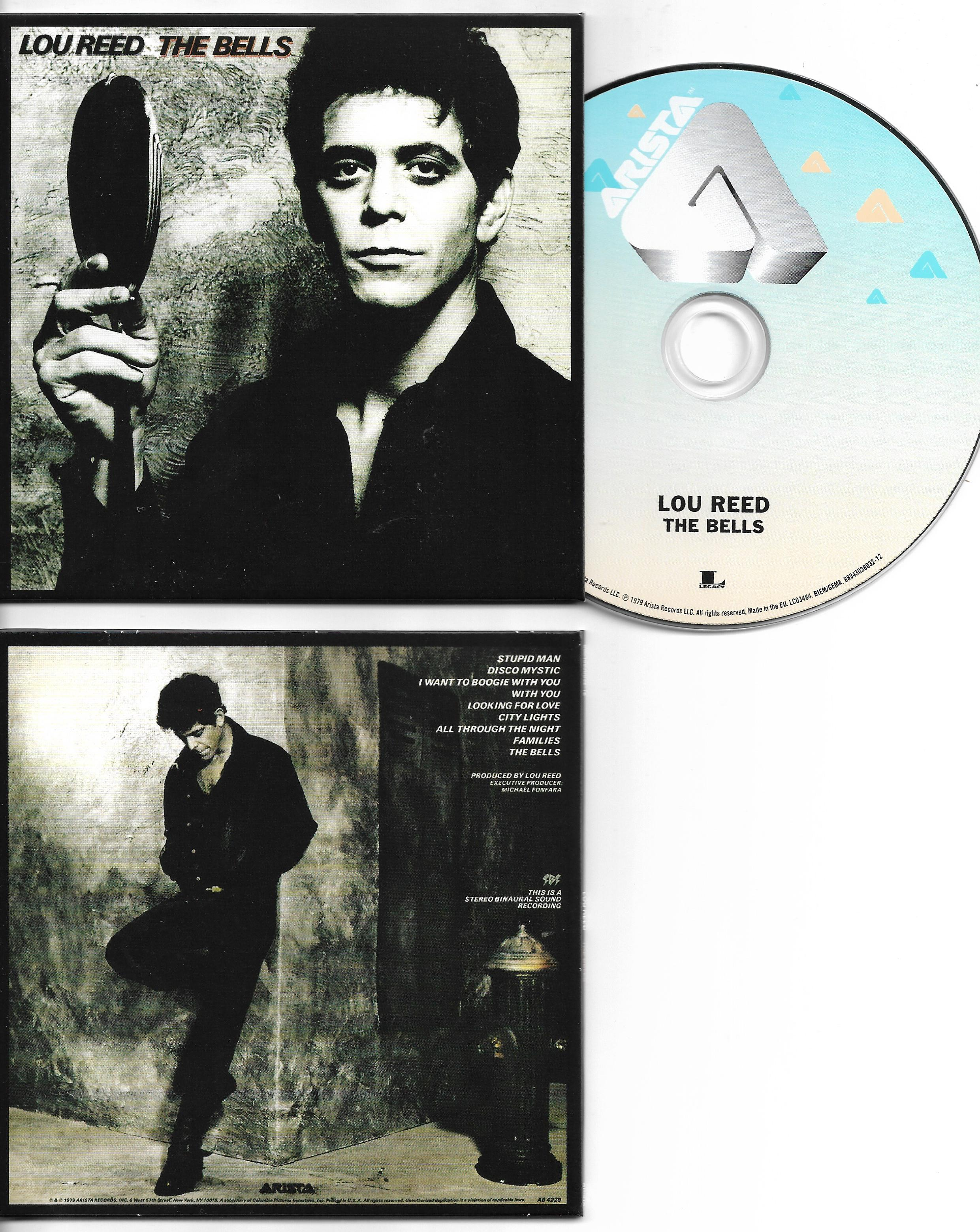Lou REED - The Bells | Lou Reed Remaster - Mini Lp Replica 8-track Card Sleeve