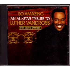 LUTHER VANDROSS - CELINE DION - DONNA SUMMER - ELT - 4-track Pop Radio Sampler promo - CD single
