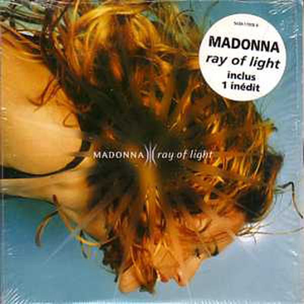 MADONNA - Ray Of Light 2-track Card Sleeve Sticker