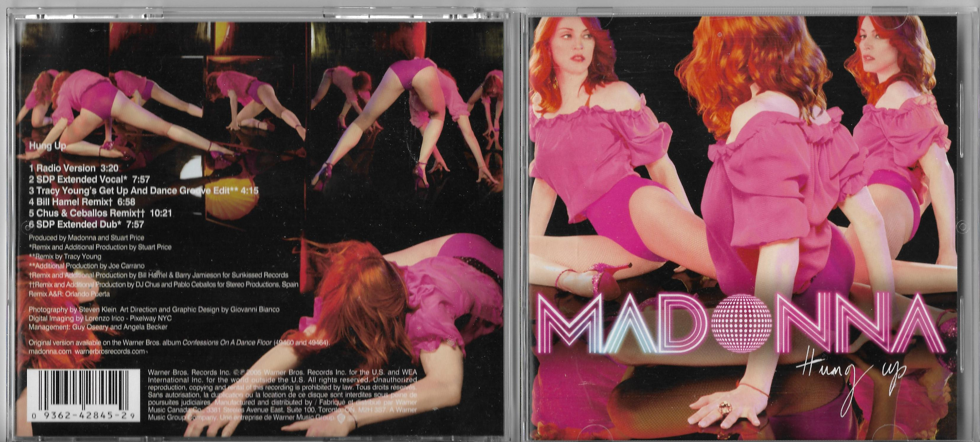 MADONNA - I HEL-FIGUR 95 PAGES HARD BACK BOOK - Livre