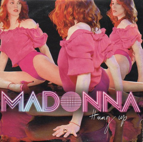 MADONNA - Hung Up 3-track Card Sleeve