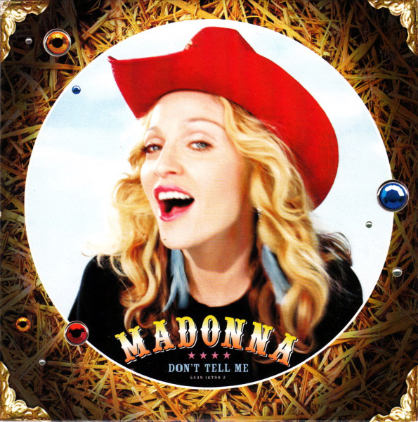 MADONNA - Don't Tell Me 2-track Card Sleeve
