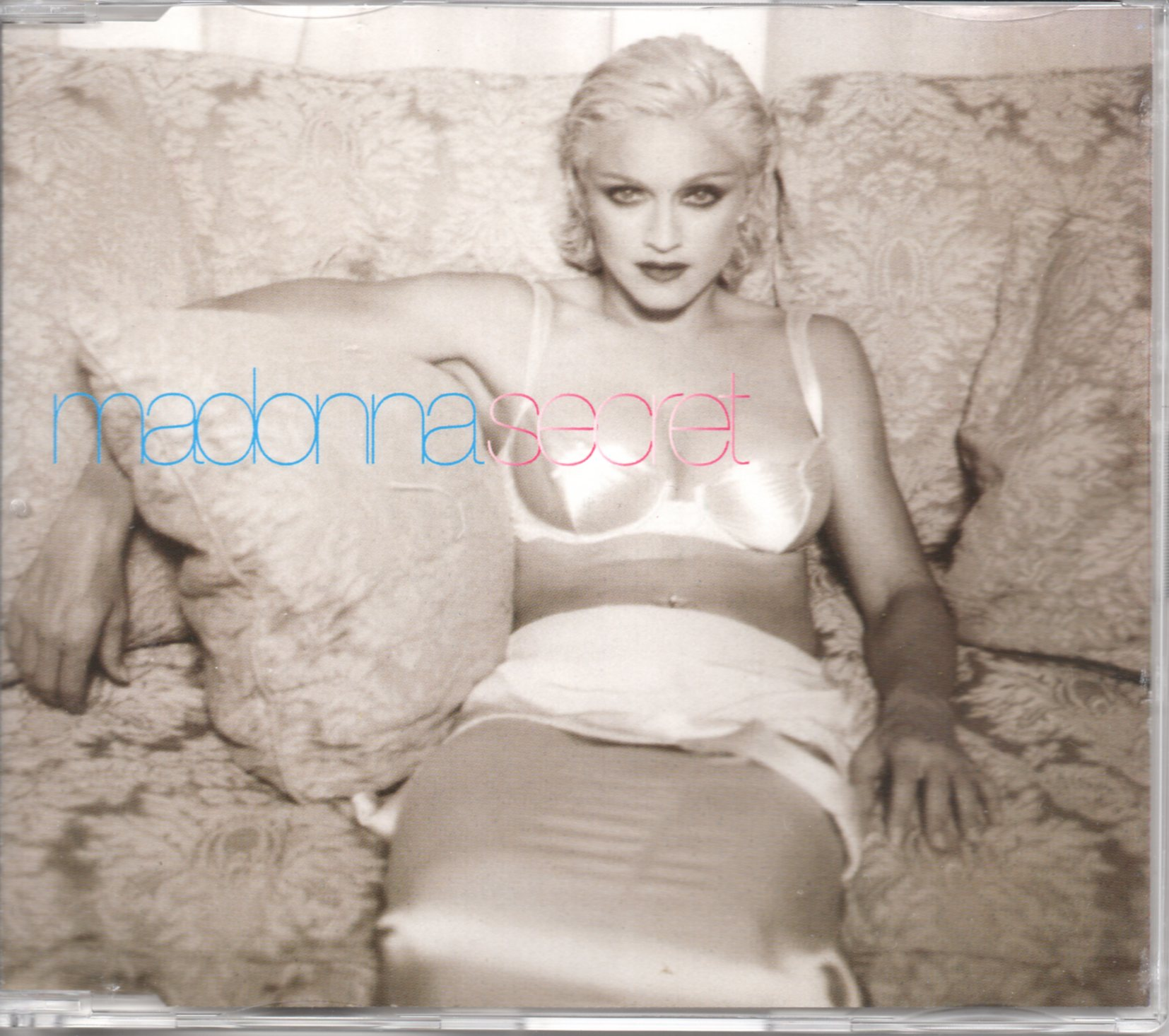MADONNA - Secret 4-track jewel case - CD Maxi