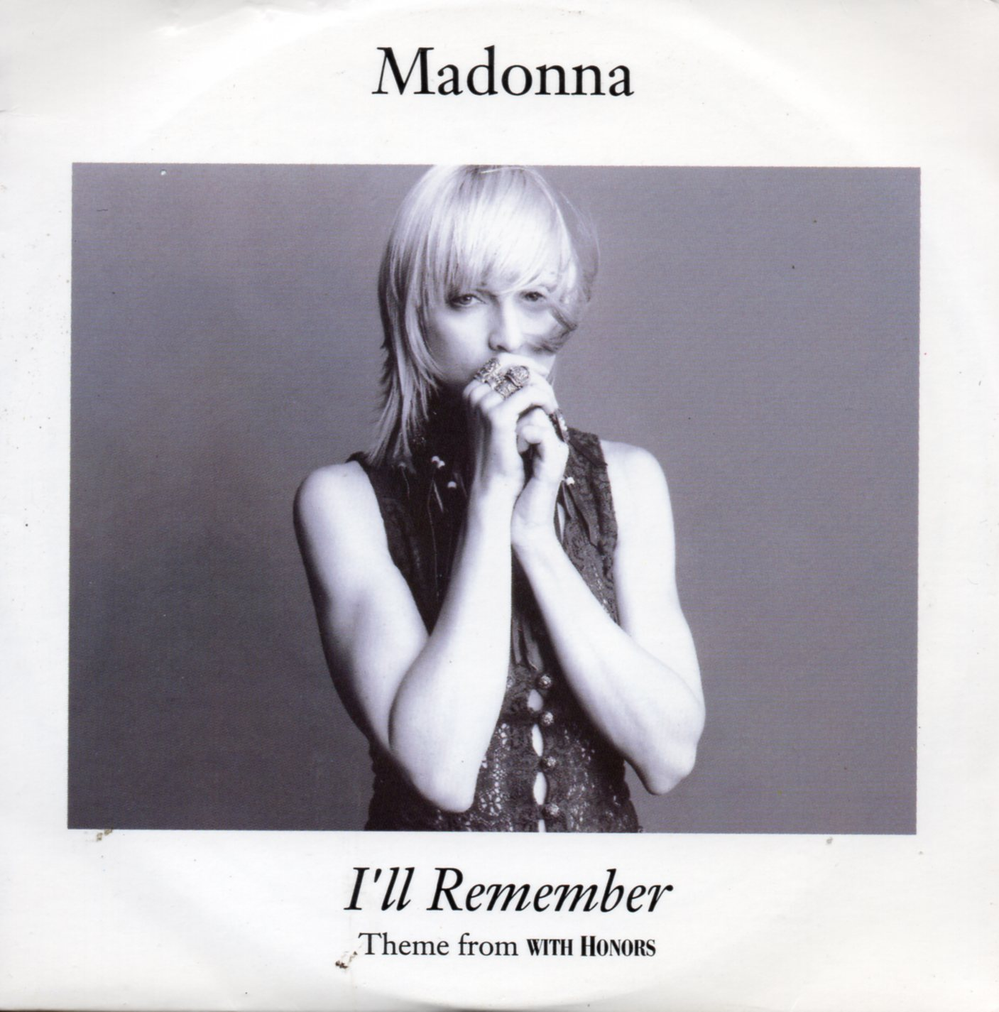 MADONNA - I'll Remember 4-track Card Sleeve