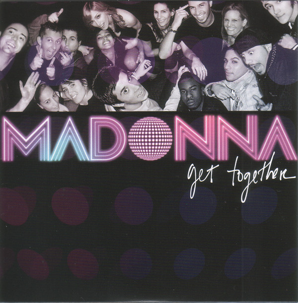 MADONNA - Get Together 2-track Card Sleeve