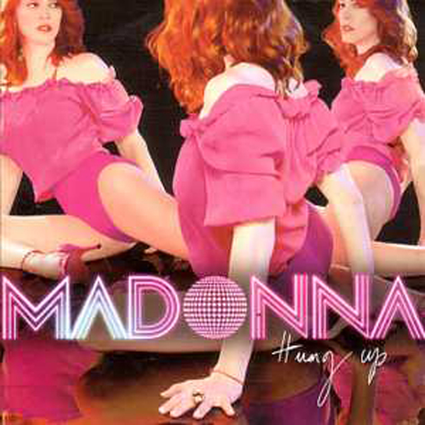 MADONNA - Hung Up Card Sleeve 2-track