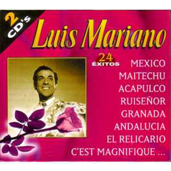 LUIS MARIANO - 24 exitos ++ Coffret Espagne ++ - CD