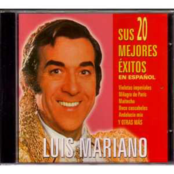 LUIS MARIANO - Sus 20 mejores exitos en español - CD single