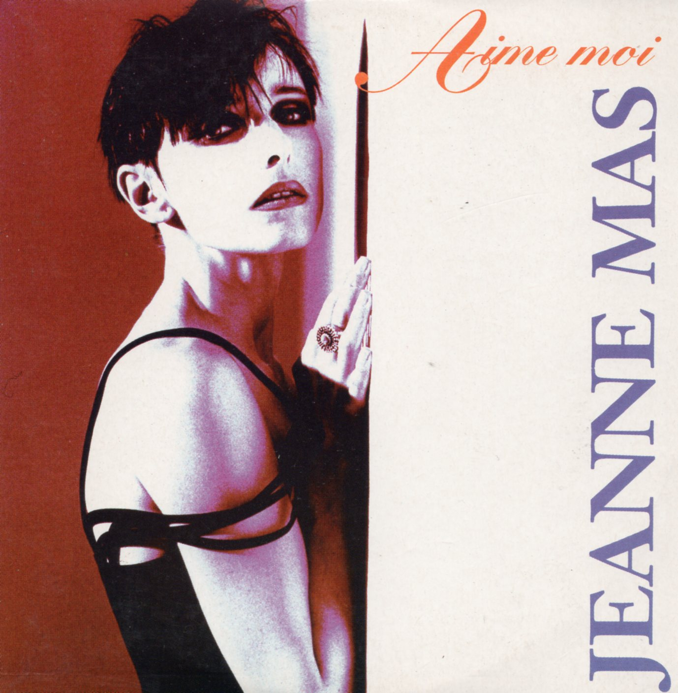 JEANNE MAS - Aime moi 2-Track CARD SLEEVE - CD single