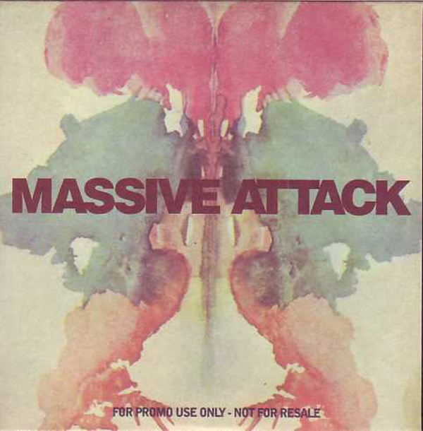 MASSIVE ATTACK - Risingson - Promo 3-track Card Sleeve
