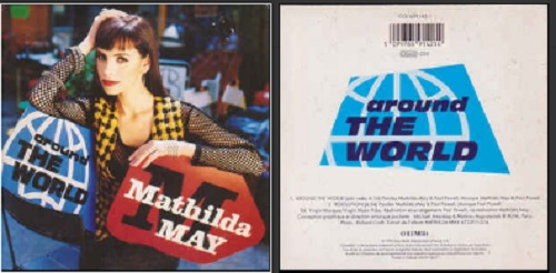 MATHILDA MAY  - Around the world 2-Track CARD SLEEVE - CD single