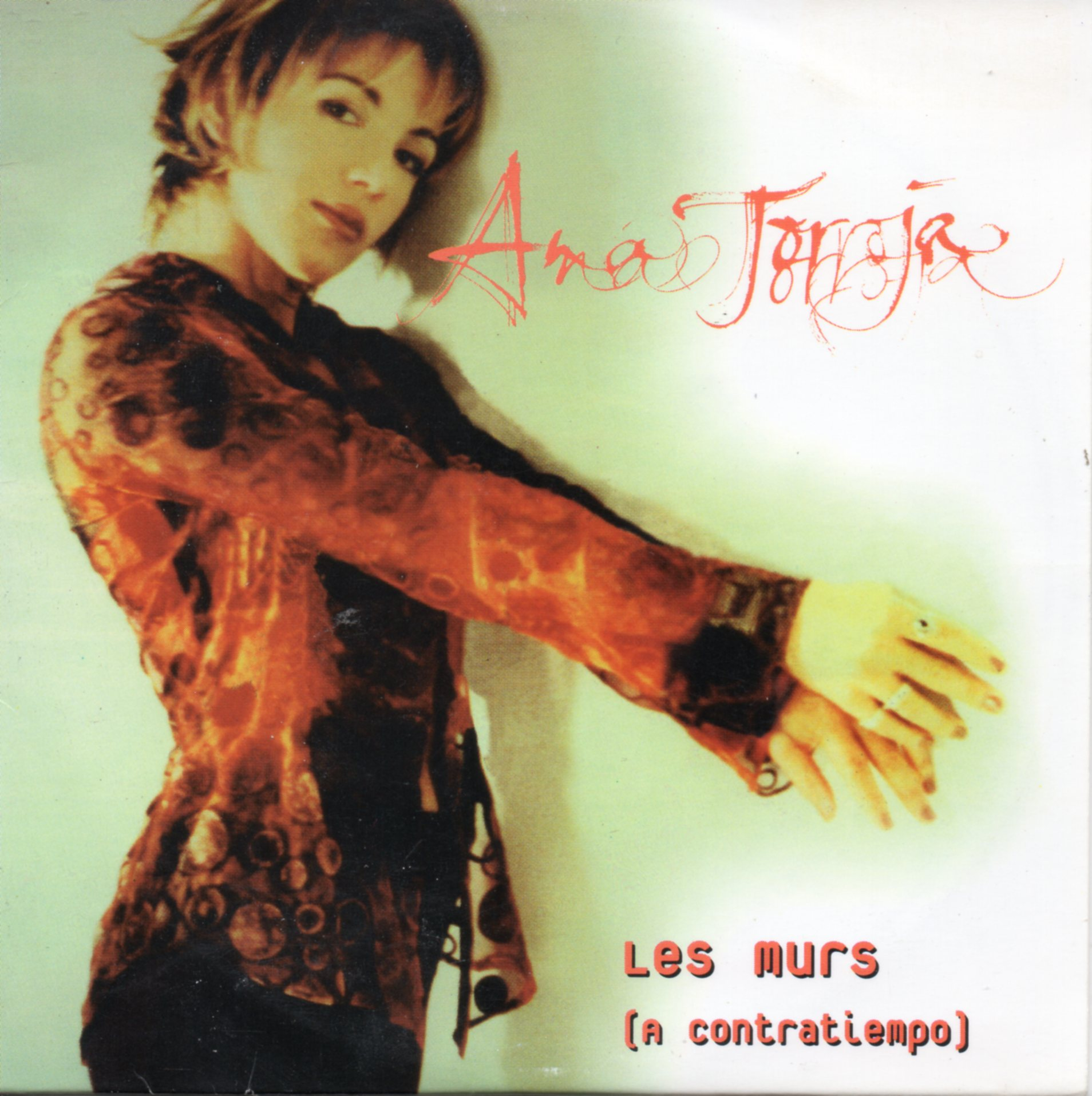 ANA TORROJA - MECANO - FRANÇOISE HARDY - Les murs 2-track CARD SLEEVE - CD single